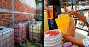 Detectan almacenamiento de combustible robado en 4 colonias de Puebla