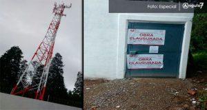 Detectan instalaciones irregulares de antenas en San Pedro Cholula