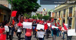 """En Tehuacán, Antorcha exige resolver """"irregularidades"""" del Oosapat"""