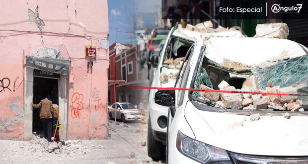 Van 26 muertos por sismo registrado este martes en Puebla, afirma Gali