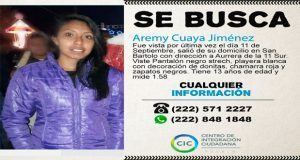 Ayúdanos a encontrarla: Aremy Cuaya desapareció en San Bartolo