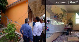279 escuelas reportan daños graves tras sismo, reporta SEP en Puebla