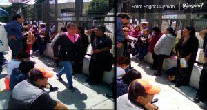 Acusan filas en la calle para consultas en IMSS de La Margarita