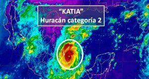 """Huracanes """"Katia"""" y """"José"""" se intensifican"""