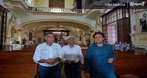 Comuna de SPC destina 1.2 mdp para reparar iglesias tras sismo