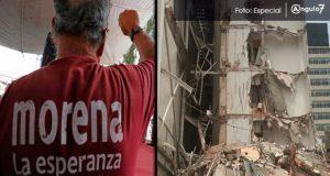 Crea Morena fideicomiso para apoyar a damnificados; incluyen Puebla