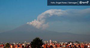 Semáforo de alerta de Popocatépetl está en amarillo fase 2: Cenapred