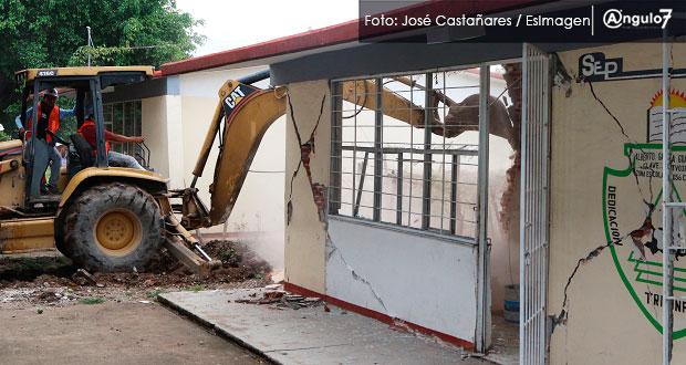 Gobierno usará seguro de 30 mdd para reconstrucción tras sismo en Puebla