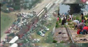 """Capturan en video """"modus operandi"""" de saqueadores de trenes en Puebla"""