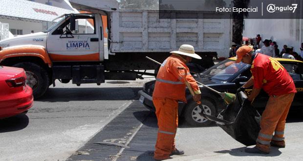 Servicio de Limpia no suspende labores por fiestas patrias