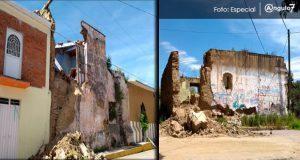 Más de 40 casas y 60 bardas afectadas en Calpan; piden supervisión