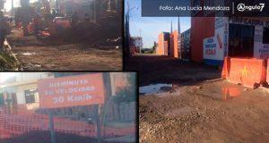 Socavón en San Andrés Cholula lleva ya casi un mes sin ser reparado