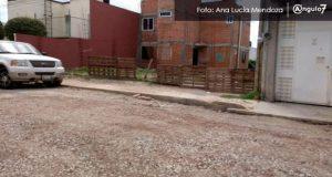Reparan socavón en San Andrés; calle Atzala quedaría en octubre
