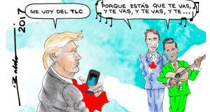 Caricatura-las--amenazas-de-trump