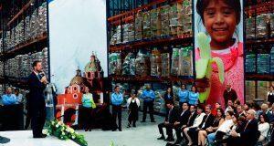 Renuevan Banco de Alimentos Caritas de Puebla