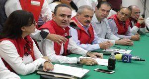 Jorge Estefan Chidiac, Presidente estatal del PRI, anunció el nombramiento de Ricardo Urzua como Secretario de vinculación empresarial y emprendimiento.