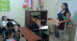 Antorcha apoya mejora de centro de asistencia infantil en Amozoc