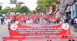 Protestarán 5 mil antorchistas en Tehuacán para exigir soluciones