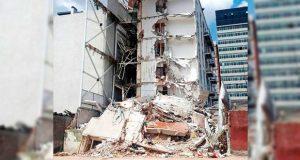En Edomex detienen a copropietario de edificio colapsado en sismo