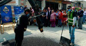 Banck entrega patrulla en segunda sección de Guadalupe Hidalgo