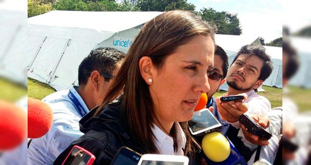 120 mil alumnos siguen sin clases en Puebla por sismo: SEP