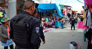 Tras balacera, 150 policías de SSP vigilarán tianguis de San Martín