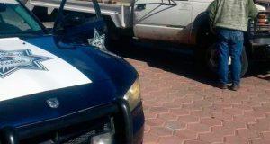 Policía Federal se enfrenta a ladrones de pipas en Huixcolotla