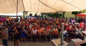 Sedatu entrega estufas ahorradoras a 500 familias de Tehuacán