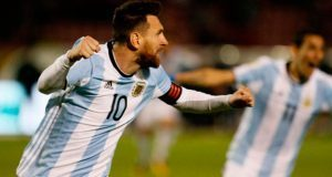 Messi califica a Argentina