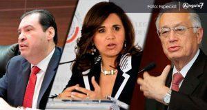 Senadores Urzúa, Alcalá y Bartlett
