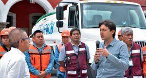 Comuna de SPC entrega a Sosapach 3 vehículos con costo de 1.6 mdp
