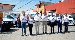 Gali y Espinosa Torres inauguran obras con costo superior a 22 mdp