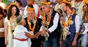 Federación reconoce a Gali por su impulso a la medicina tradicional