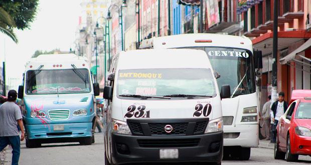 Habría corredor de transporte público temporal sobre 10 pte: Semovi