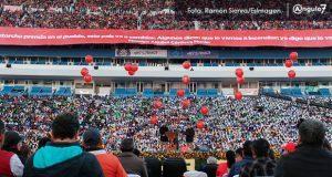 En festejo de 43 años, Antorcha se destapa para ser partido político