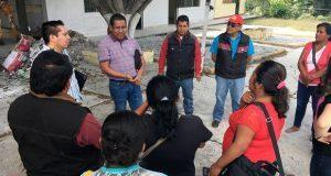 Anuncian construcción de comedor escolar en primaria de Ahuatempan