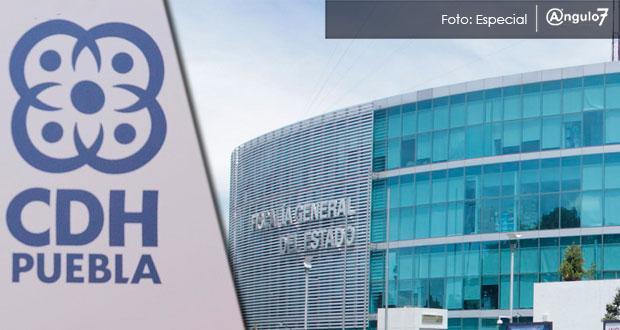 FGE lleva 4 recomendaciones emitidas por la CDH en 2017, 50% del total