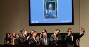 Subastan pintura de Leonardo Da Vinci en 450 millones de dólares