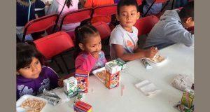 Sedesol alimenta a 3 mil 171 menores en 14 municipios poblanos