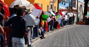 Antorcha protesta en capital y municipios por caso Hernández Pasión