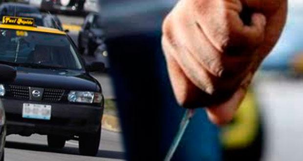 Por resistirse a asalto, clava picahielos a taxista en La Libertad