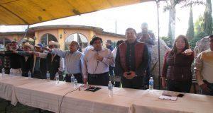 Barbosa afirma devolverá autonomía a juntas auxiliares de Puebla