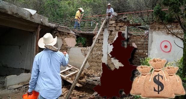 Por sismos, aumentaría a 35 mmdp bolsa para reconstrucción: Chidiac