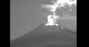 Popocatépetl entra en etapa de actividad continua: Cenapred