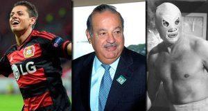 """Dan Premio Nacional de Deporte a """"Chicharito"""", Slim y """"El Santo"""""""