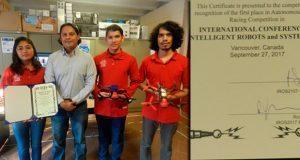 Equipo del Tecnológico de Atlixco gana competencia mundial de drones