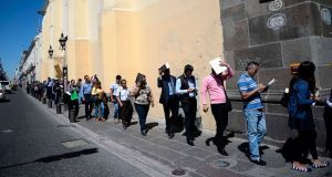 Tasa de desempleo en Puebla del 2.8%