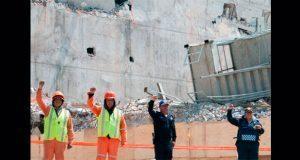 En predio de edifico caído en CDMX, memorial a víctimas de sismo