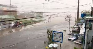 Tifón Damrey deja 61 muertos y 28 desaparecidos en Vietnam