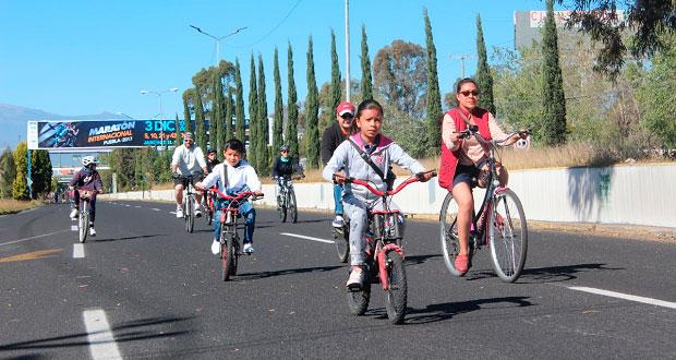 Más de 6 mil personas participan en Vía Recreativa Metropolitana